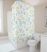 Leaf Design 3 Shower Curtain