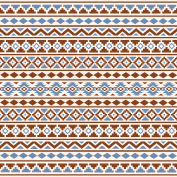 Aztec Ess2 Rust Blue Cream