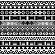 Aztec Influence BW