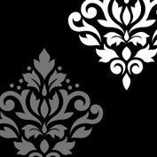 Scroll Damask Art I 2