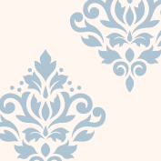 Scroll Damask Art I 9
