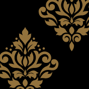 Scroll Damask Art I 4