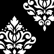 Scroll Damask Art I 5