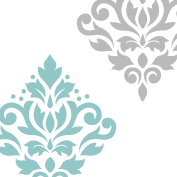 Scroll Damask Art I 11