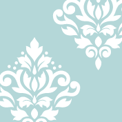 Scroll Damask Art I 10