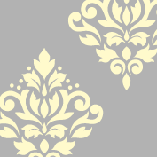 Scroll Damask Art I 6