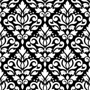 Scroll Damask Ptn WB