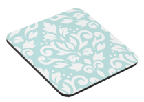 Scroll Damask Coaster